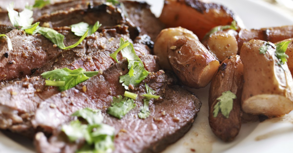 How to Cook a London Broil in a Smoker