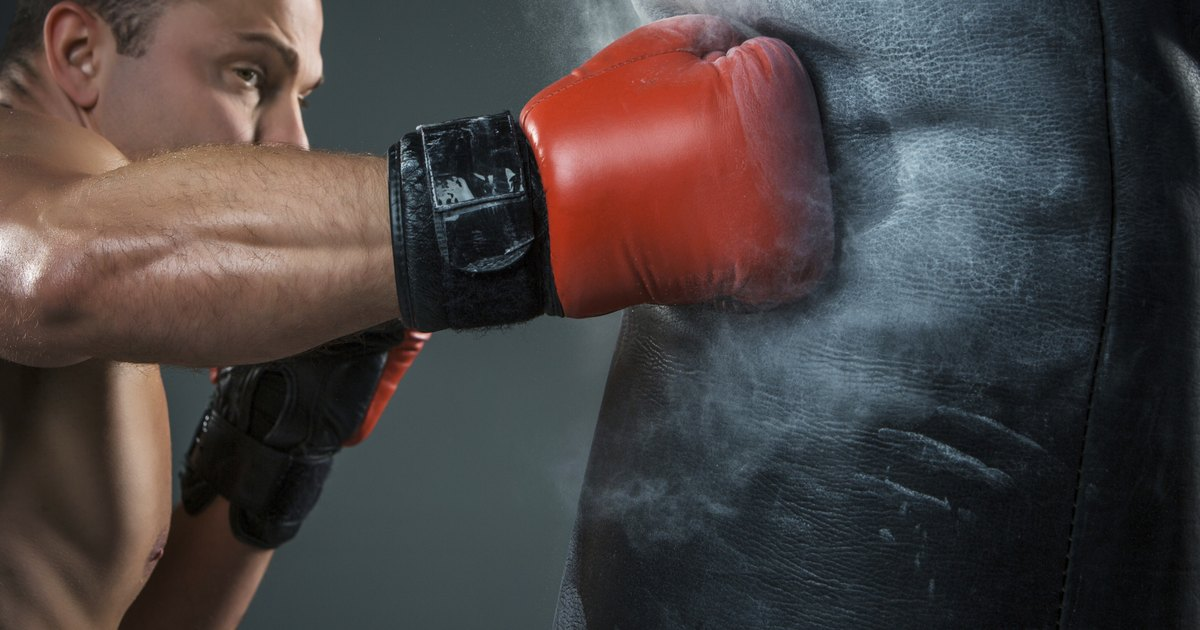 how to install a punching bag livestrongcom