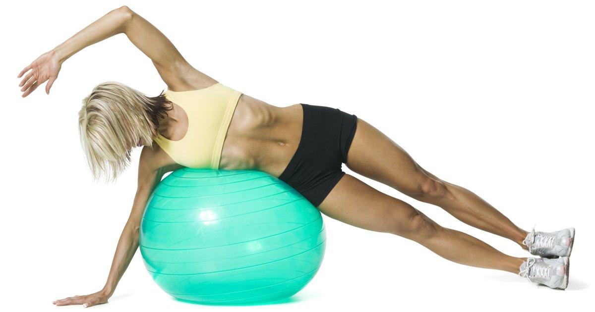 Proper pressure for exercise ball livestrong com for Housse ballon yoga