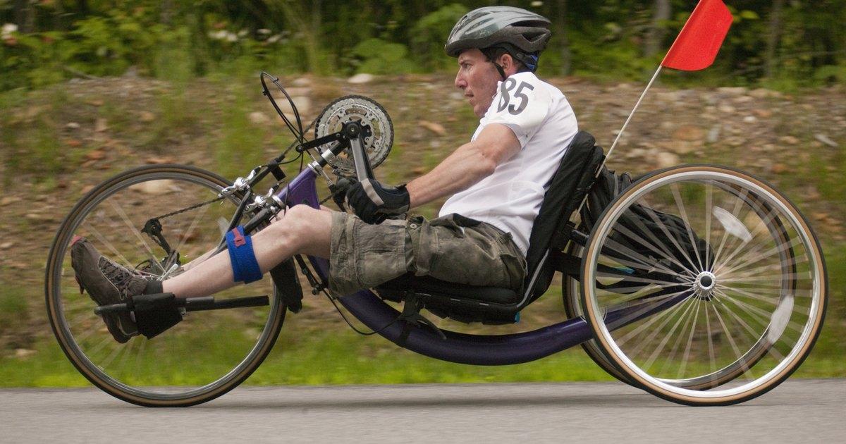 A Recumbent Bike Vs A Trike Livestrong Com