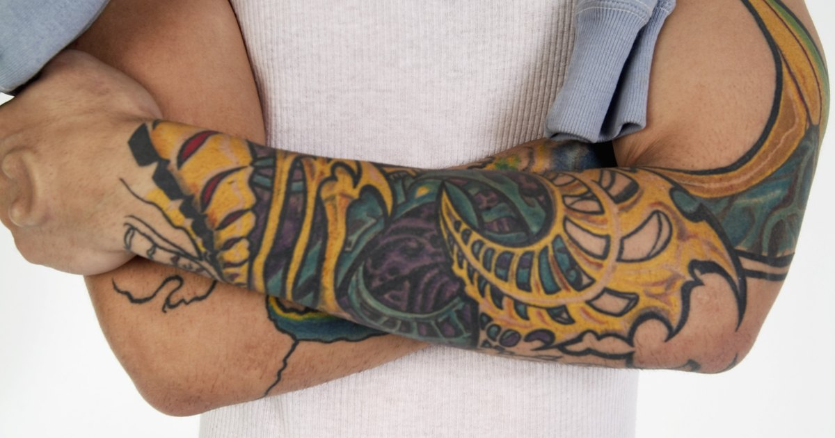 Facts on tattoo numbing cream livestrong com for Best way to take care of a new tattoo