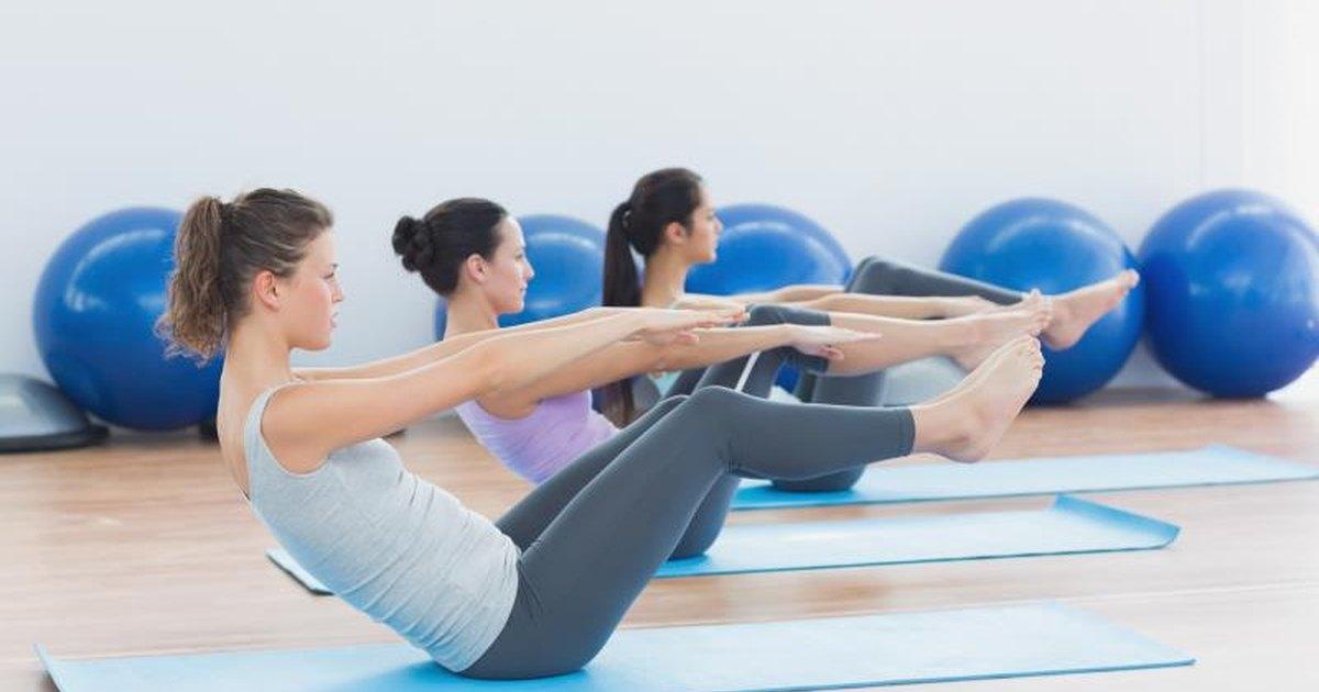 Top 10 Pilates Exercises Livestrong Com