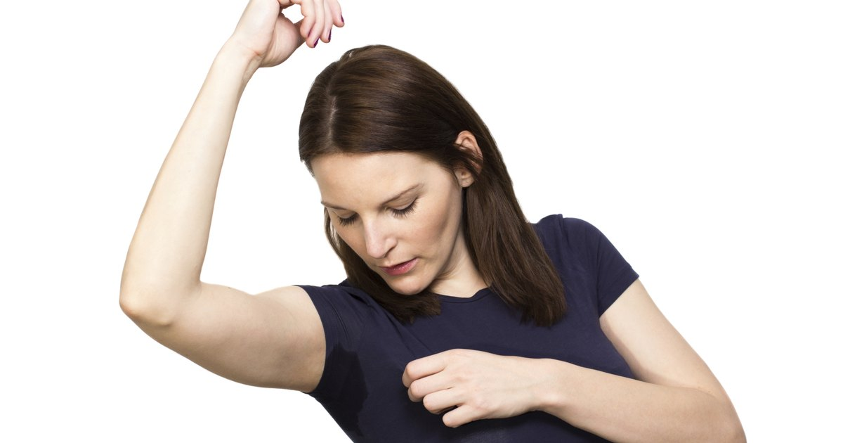 how to get deodorant stains out of polyester