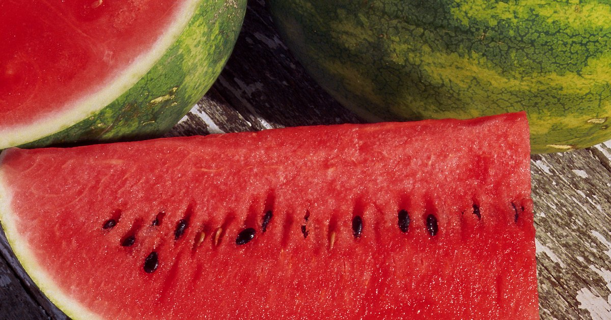 pickaninny eating watermelon to lose weight