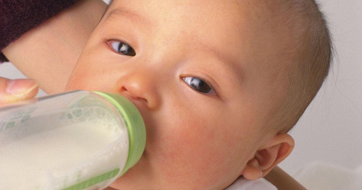 How Much Formula Should A  Month Old Baby Drink