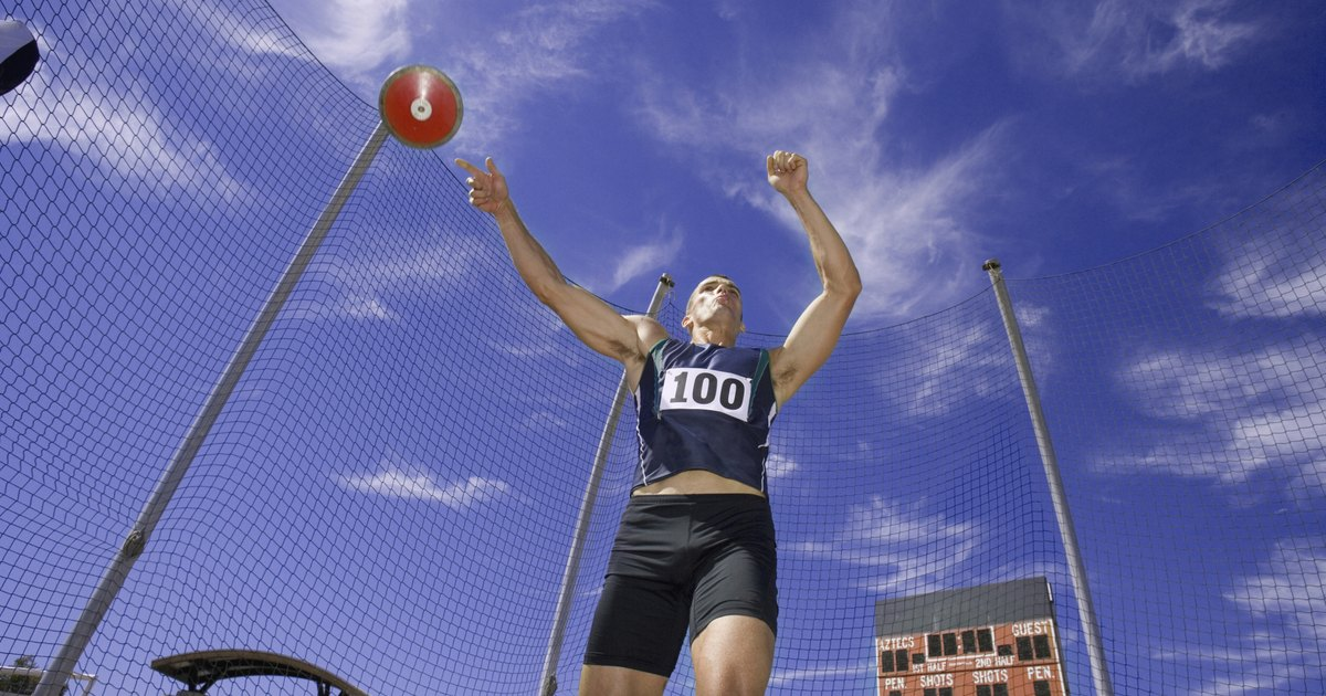 the features of the sport of discus