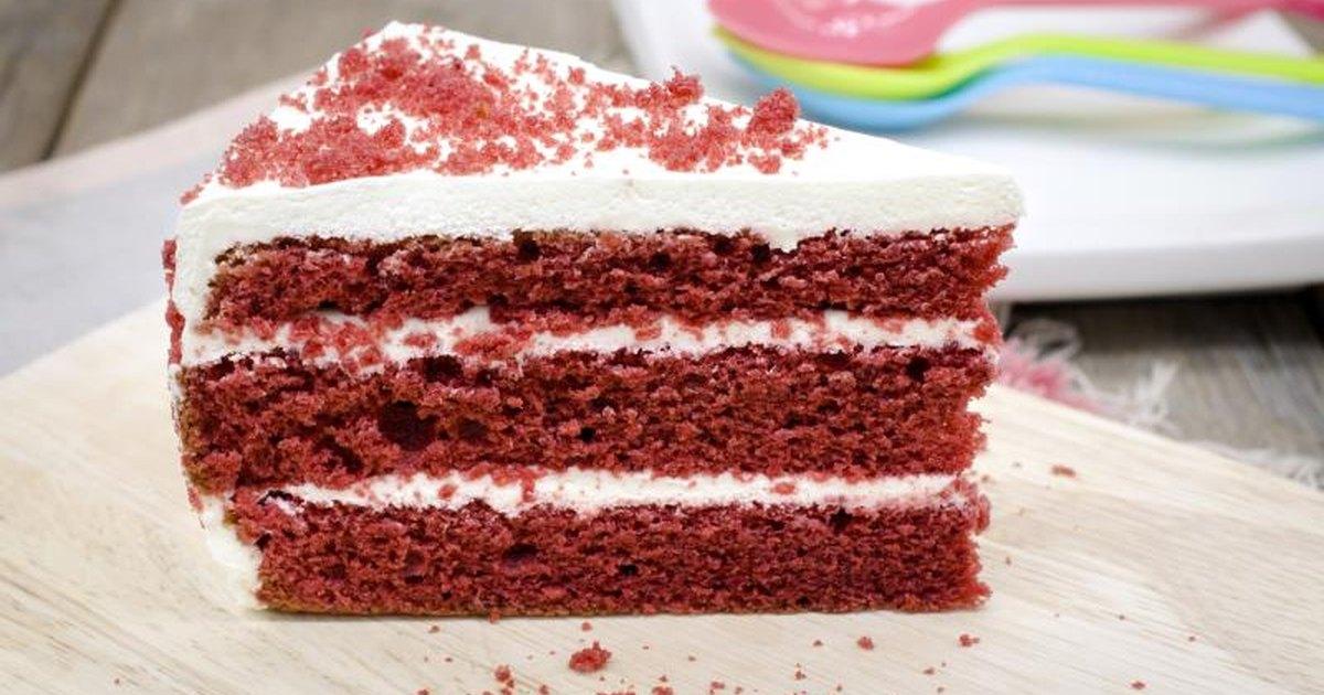 Red Velvet Cake Slice Nutrition