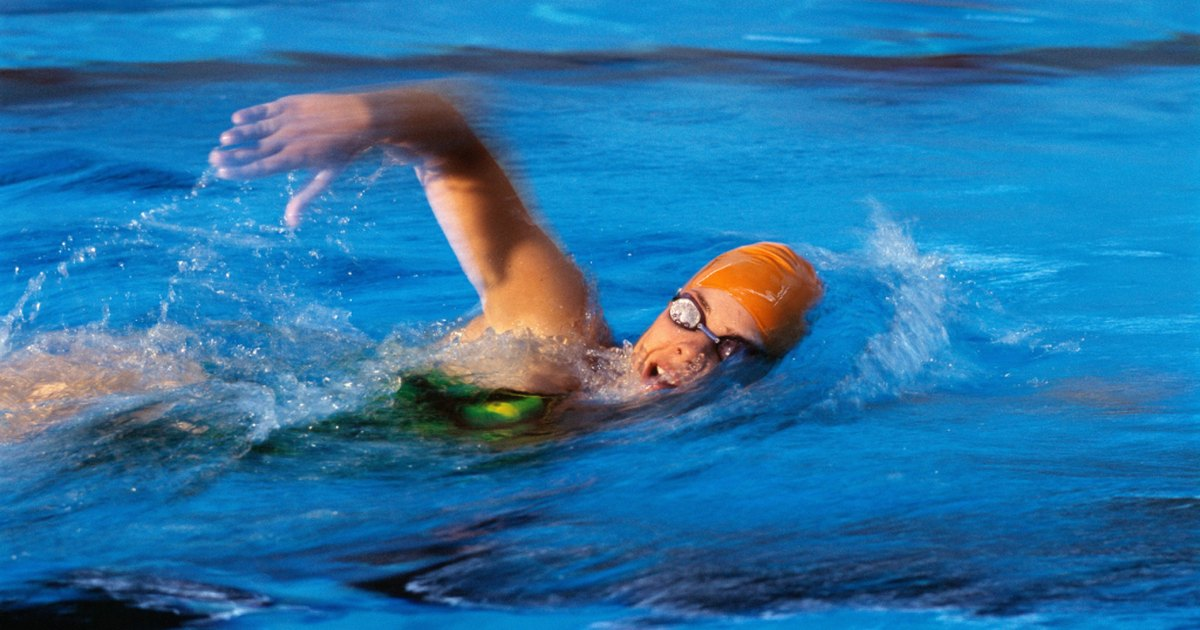 Lap Swimming For Out Of Shape Swimmers Livestrong Com