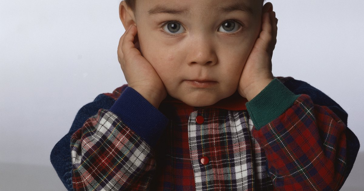 Why A Toddler Is Nervous And Covers The Ears Livestrong Com