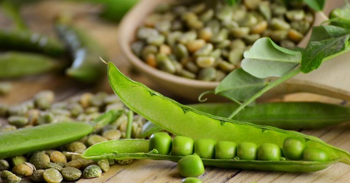 Dried peas nutrition