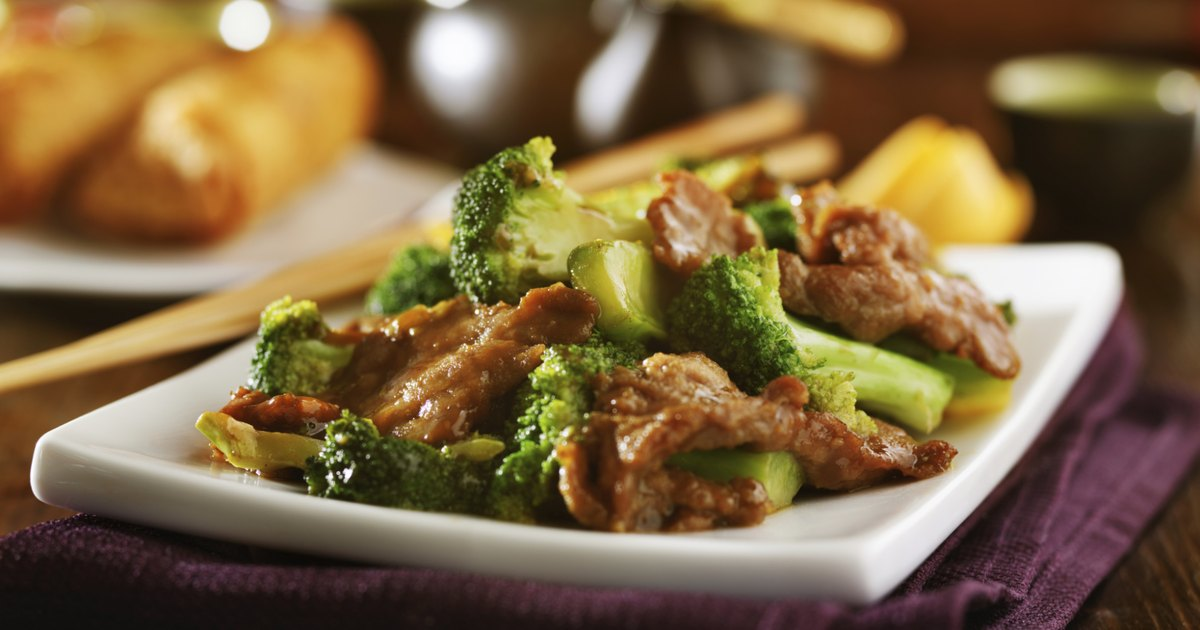 Chinese Food Beef And Broccoli Nutrition Facts