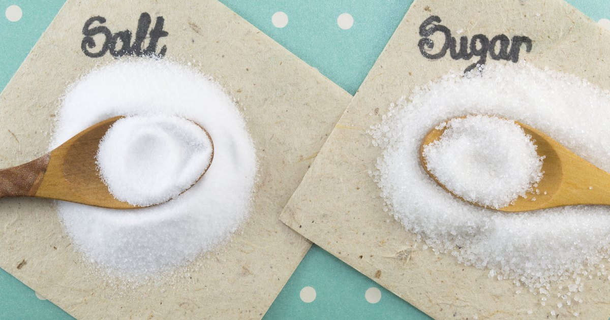 What Do Salt & Sugar Do to Your Body?