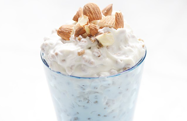 Vegan Almond Yogurt Cereal