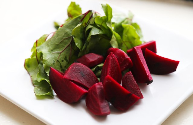 Roasted Pickled Beets