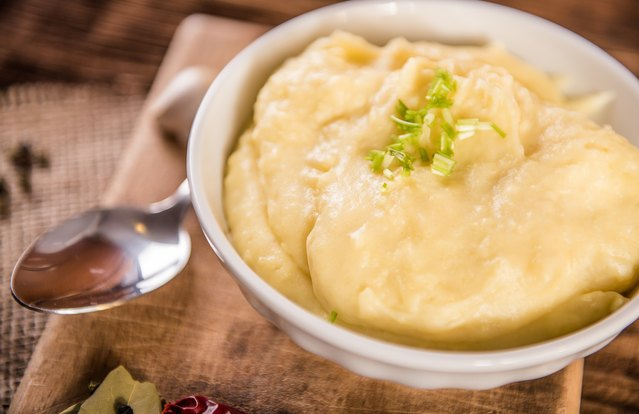Creamy Parmesan Cauliflower Puree