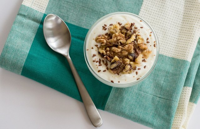 Flaxseed & Walnut Soy Yogurt