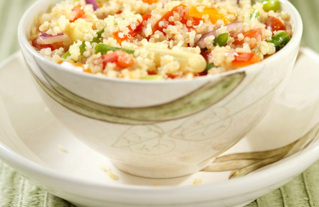 Roasted Vegetable and Quinoa Salad