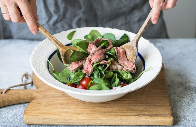 Paleo Cinco de Mayo Steak Salad