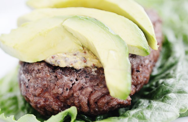 Beef and Avocado Burger