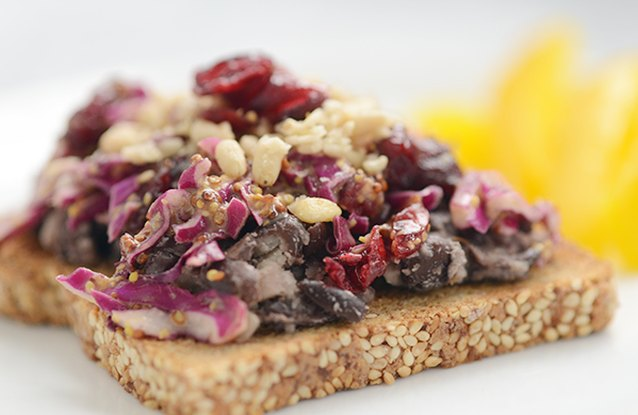 Black Bean Melt with Slaw