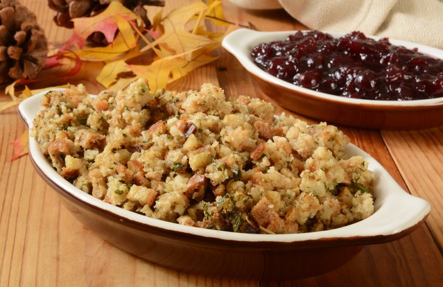 Sweet and Savory Root Vegetable Stuffing