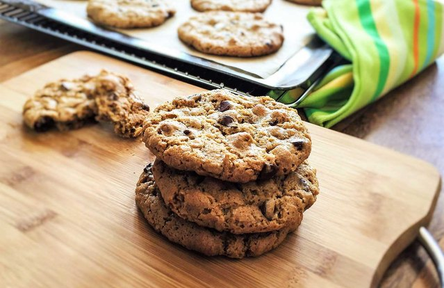 Pulse Chocolate-Chip Cookies