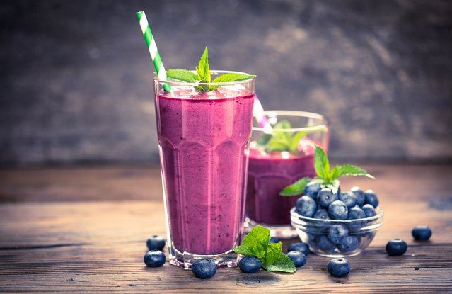 Blueberry Protein Power Smoothie