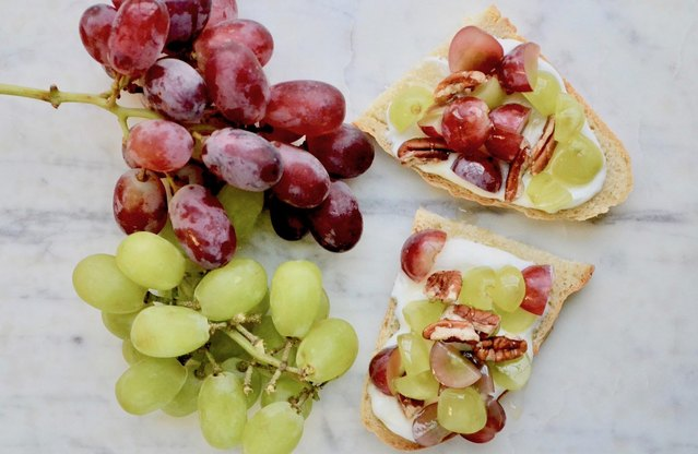 Grape Bruschetta