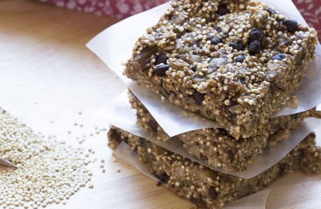 Healthy Quinoa Bars