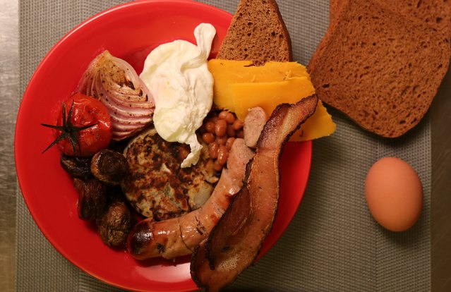 English Fry-Up Bowl