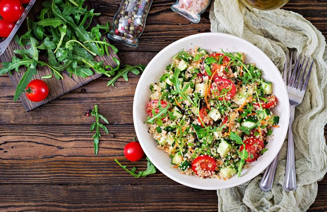 Seeds and Greens Bulgur Buddha Salad