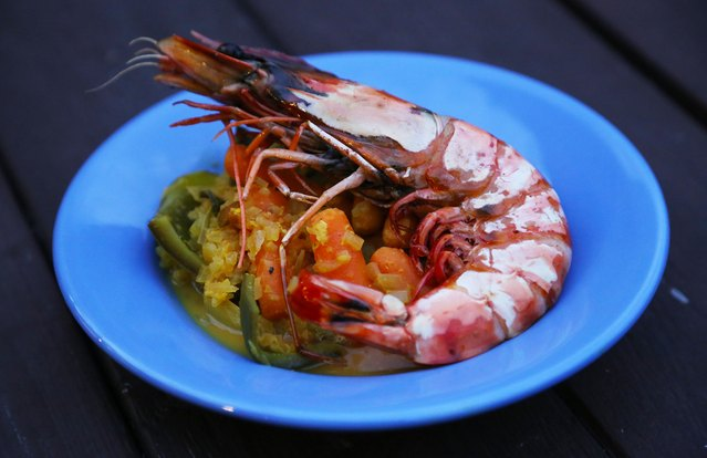 Vietnamese Cà Ri Prawn Curry