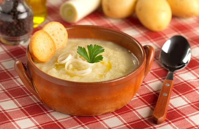 Mashed Potato Soup (From Leftover: Mashed Potatoes)