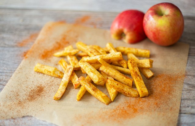 Sweet Apple Fries