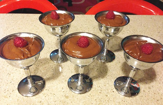 Five-Minute Vegan Dark Chocolate Pudding (With Secret Ingredient!)