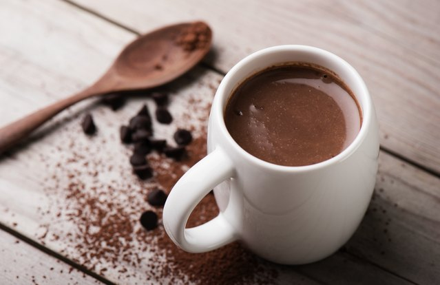 No Sugar, Low-Fat Hot Chocolate