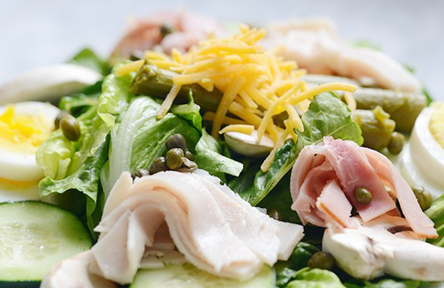 Ham and Turkey Chef's Salad
