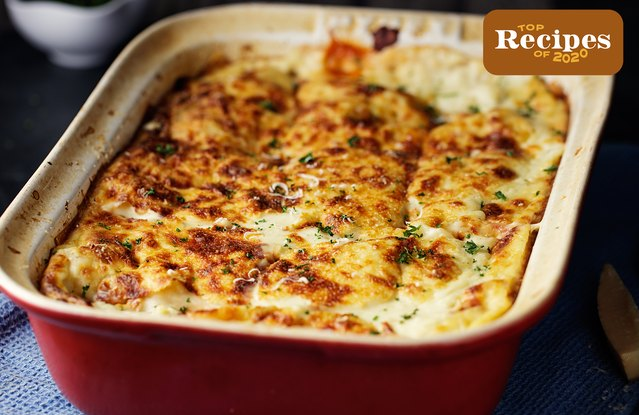 Rotisserie Chicken Lasagna (Family-Style) Recipe