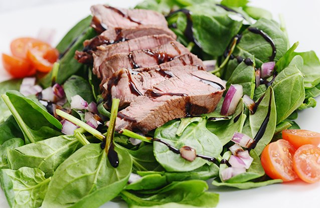 Double Protein Steak Salad