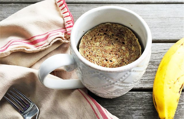 2-Minute Banana-Nut Mug Muffin