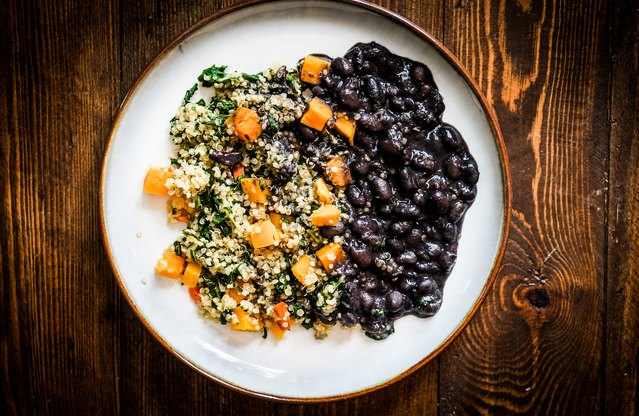 Chipotle Black Bean and Quinoa Stew