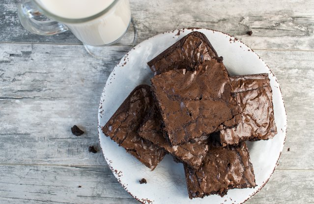 Fudgey Chocolate Brownies