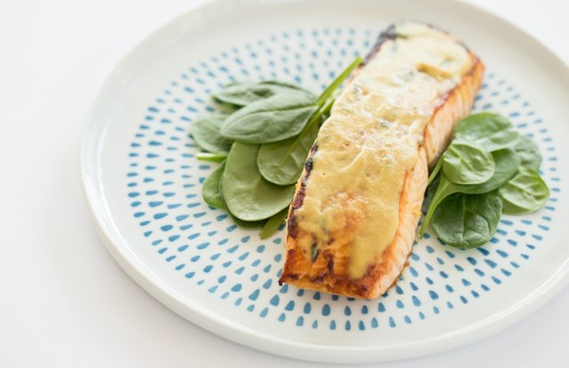 Simple Dijon Salmon