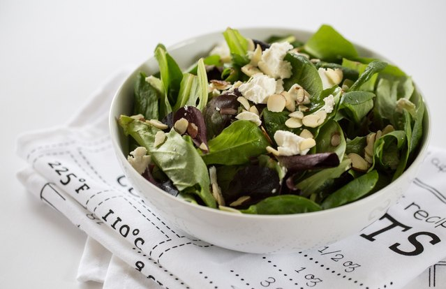 Goat Cheese & Fig Salad