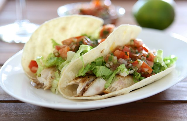 Fish and Veggie Tacos