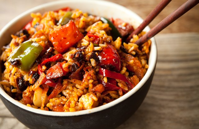 Sticky Chia Fried Rice