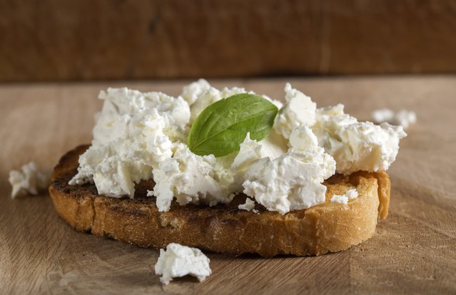 The Bee's Knees Ricotta Toast With Honey