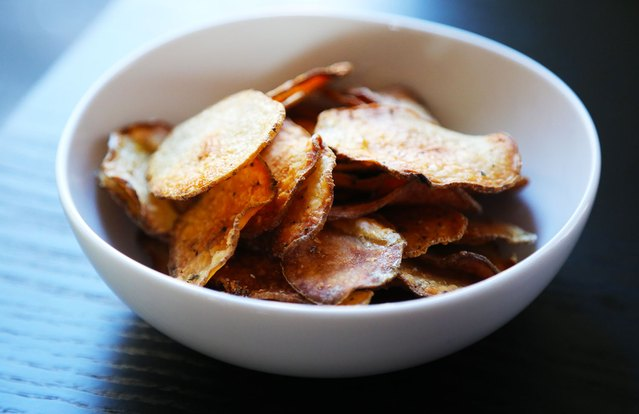 Baked Salt-and-Vinegar Chips