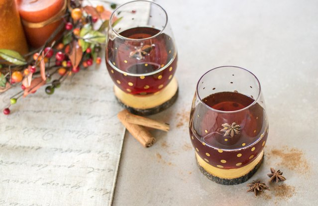 Pumpkin Spiced Tea Cocktail