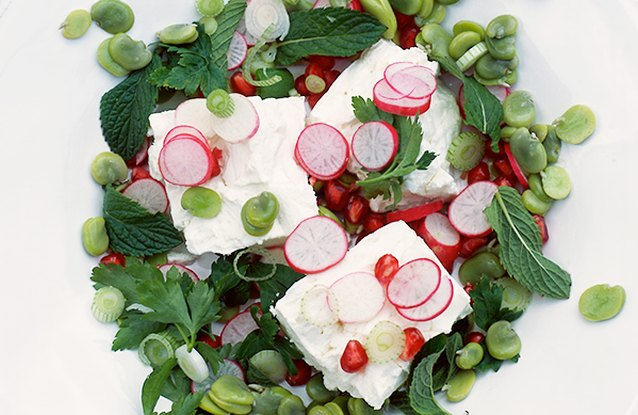 Radish and Feta Greek Crunch